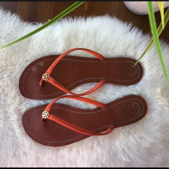e15f87e686160 🔥🔥Tory Burch orange Sandals Size 11🔥🔥. M 5a8cdd225512fd989c017bde
